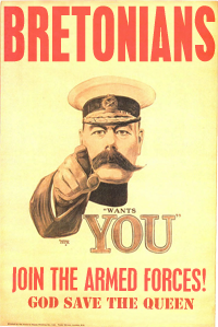 Armed Forces recruitment poster